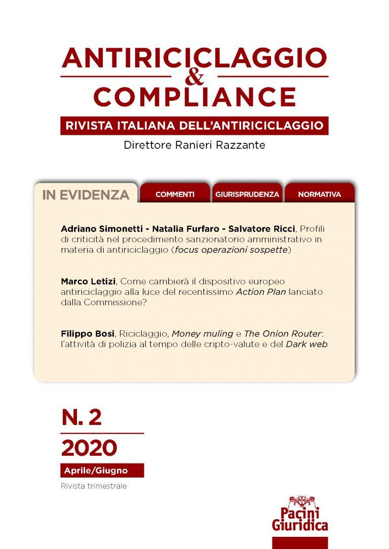 Fascicolo n 2/2020
