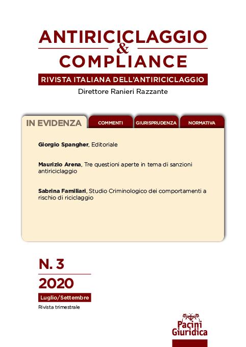 Fascicolo n. 3/2020